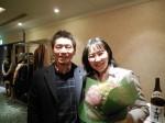 須川会員へ花束3