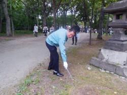 清掃活動の模様 (9)