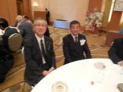 千歳セントラルロータリークラブ会長と25周年記念実行委員長