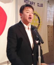 年度計画発表 国際奉仕委員会 五十嵐 桂一 委員長